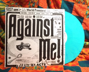 Against Me! 23 Live Sex Acts Cover and Record
